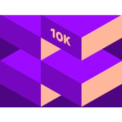 February 10K logo