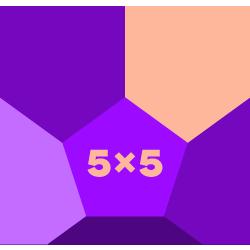 February 5x5k Challenge logo