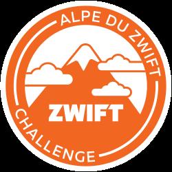 Alpe du Zwift Challenge logo