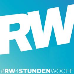 #RW4StundenWoche logo