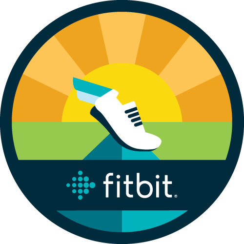 The Fitbit Sprint Into Summer Challenge Logo