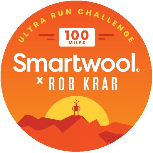 Smartwool X Rob Krar Ultra Run Challenge logo