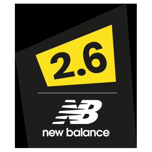 The New Balance 2.6 Challenge logo