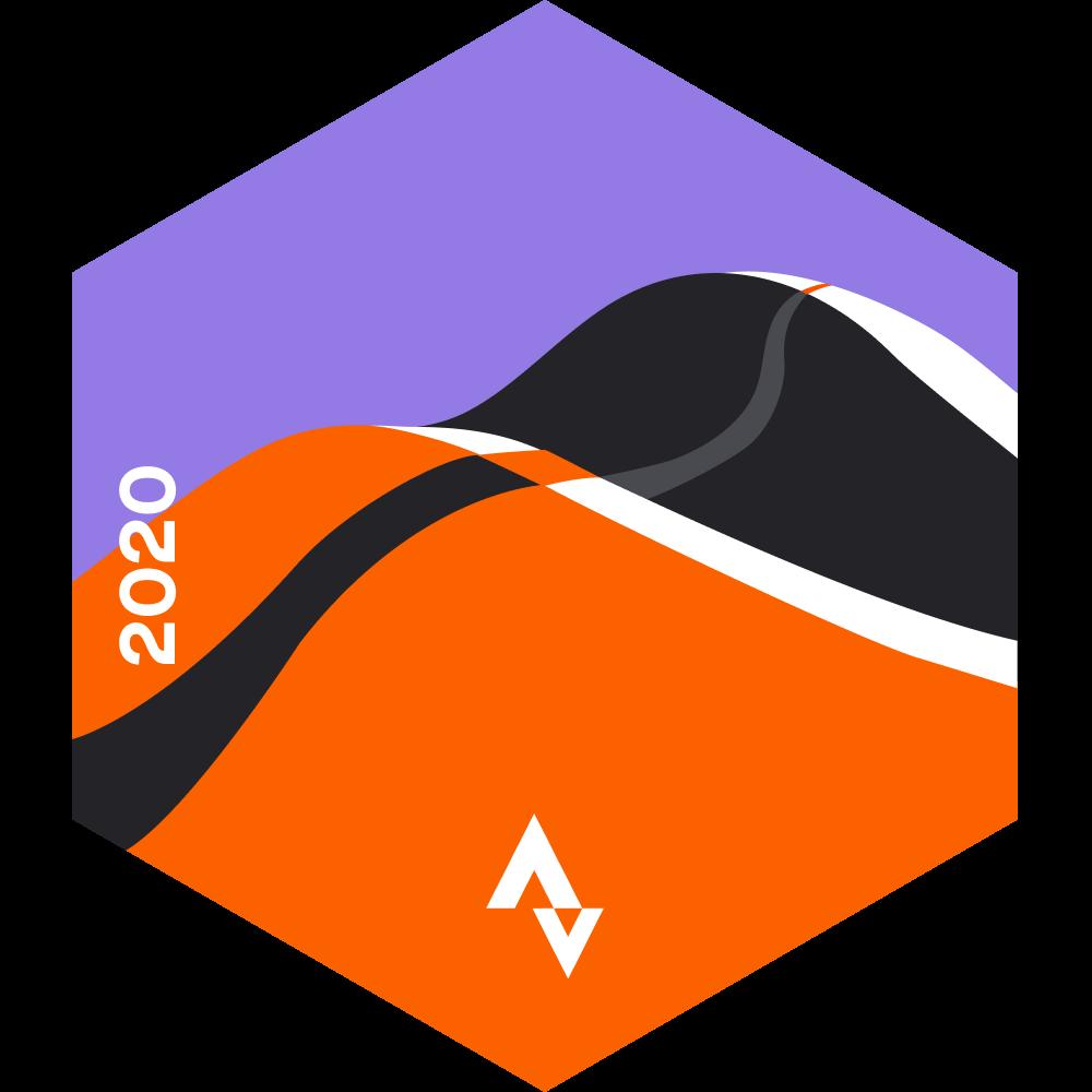 October Running Distance Challenge logo