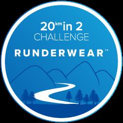 Runderwear 20 in 2 Challenge logo