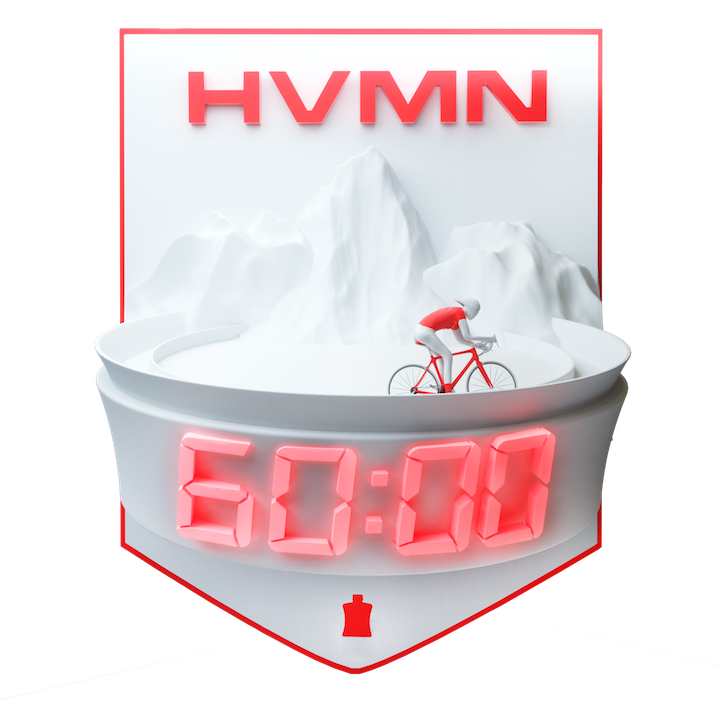 HVMN Hour Challenge logo