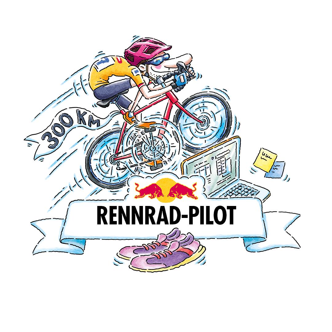Red Bull Kilometerzähler - Ride