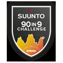 The Suunto 90 in 9 Days Challenge logo