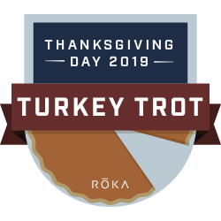 The ROKA Turkey Trot Challenge logo
