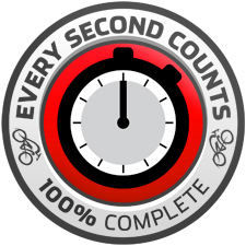 Bicycling Australia's Every Second Counts Challenge