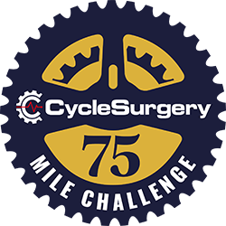 Cycle Surgery 75 Mile Challenge logo