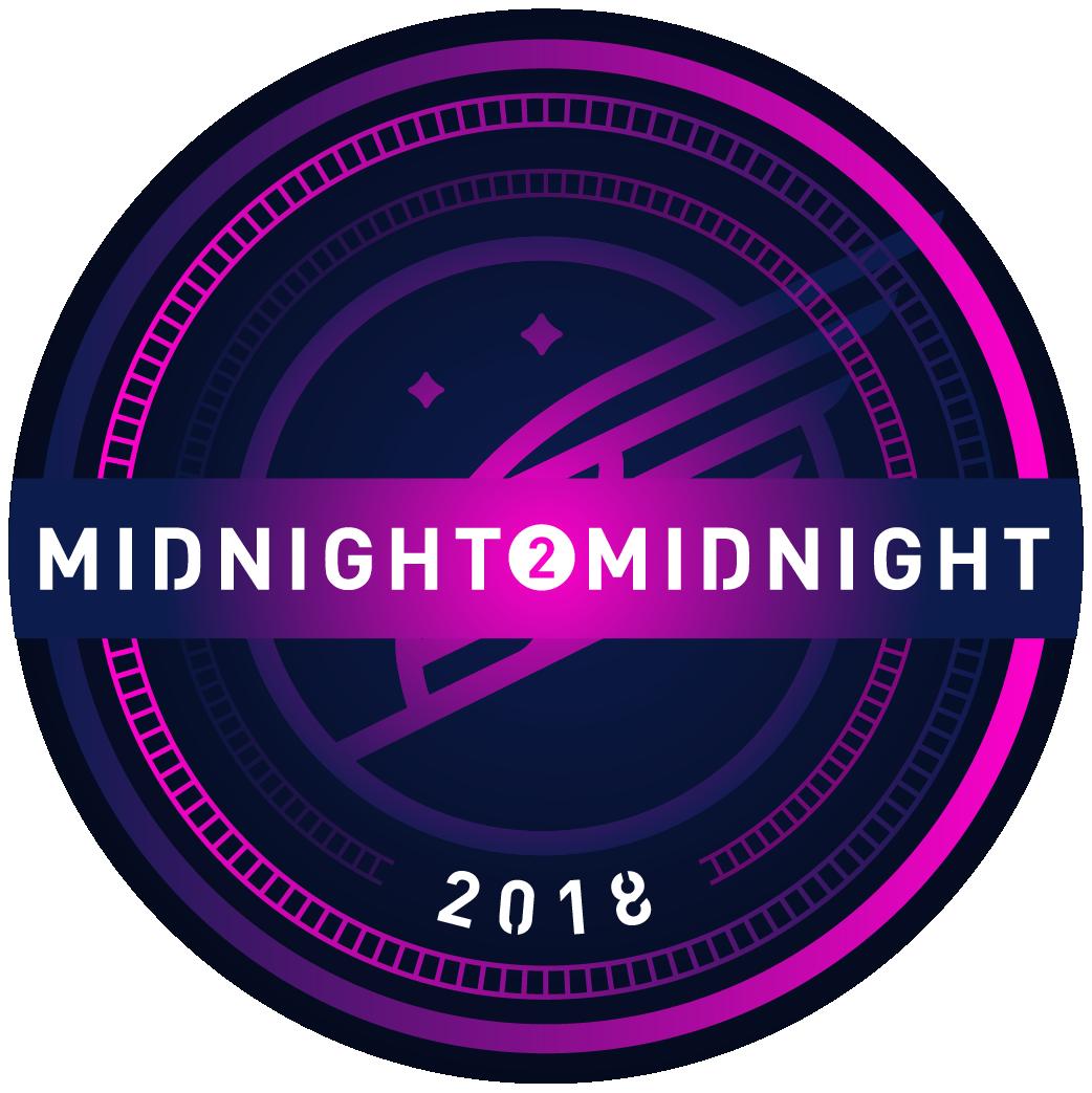 Midnight2Midnight 2018 logo