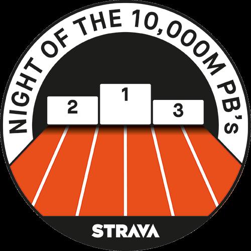 Night of the 10,000m PB's Race