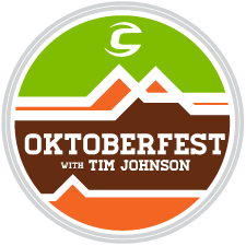 Cannondale's Oktoberfest with Tim Johnson logo