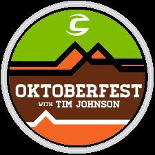 Cannondale's Oktoberfest with Tim Johnson logo