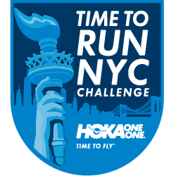 HOKA ONE ONE® Time to Run NYC - Central Park Race Weekend logo