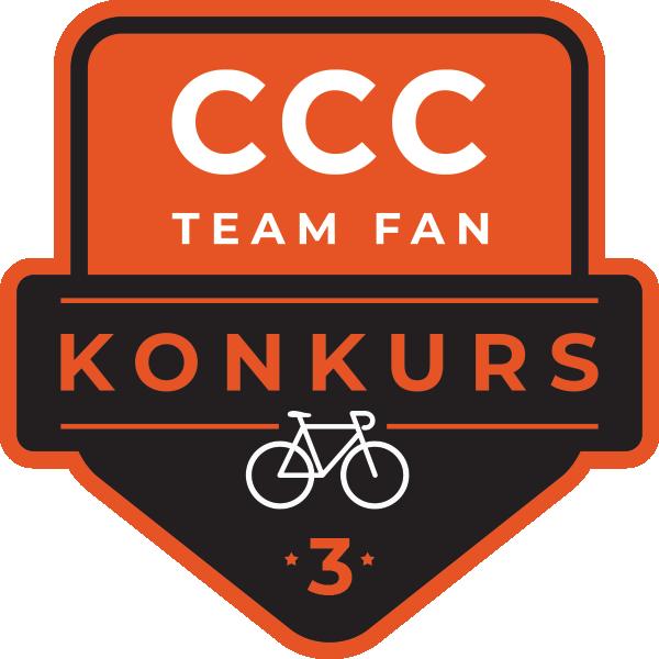 Konkurs dla fanów 3 | #CCCTeamFAN logo