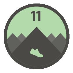 Strava Climbing Challenge - Run logo