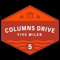 Columns Drive 5 Miler logo