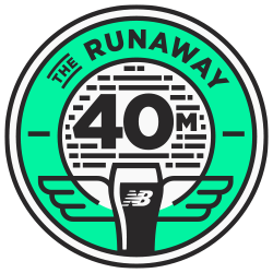 The RUNAWAY from New Balance: 40 Miles for Pints