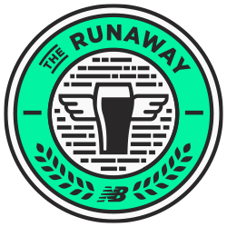 The RUNAWAY from New Balance: 40 Miles for Pints logo