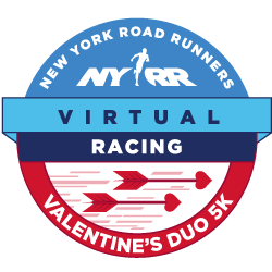 NYRR Virtual Valentine's Duo 5K