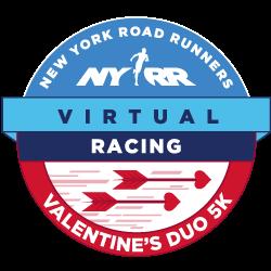 NYRR Virtual Valentine's Duo 5K logo