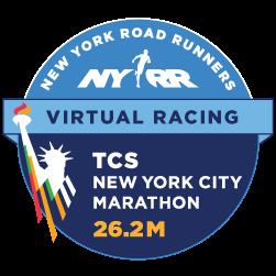 TCS New York City Marathon – Virtual 26.2M