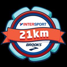 Brooks and INTERSPORT Half Marathon logo