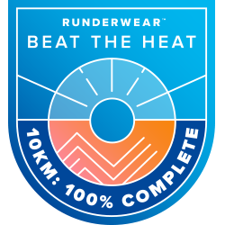 Beat the Heat 10k with Runderwear™