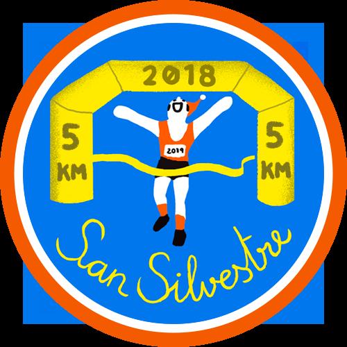 San Silvestre España - 5km logo