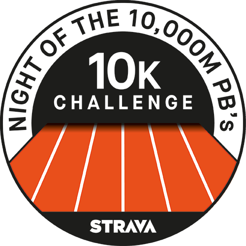 Night of the 10,000m PB's logo