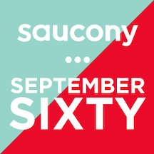 Saucony September Sixty logo