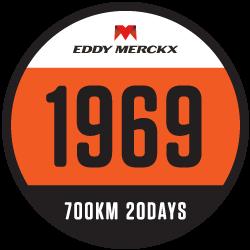 Eddy Merckx 1969 Challenge logo