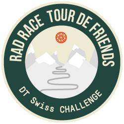DT Swiss x RAD RACE Tour de Friends 2019 logo