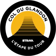 L'Étape du Tour Col du Glandon King and Queen of the Mountain