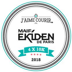 J'aime courir - MAIF Ekiden de Paris logo