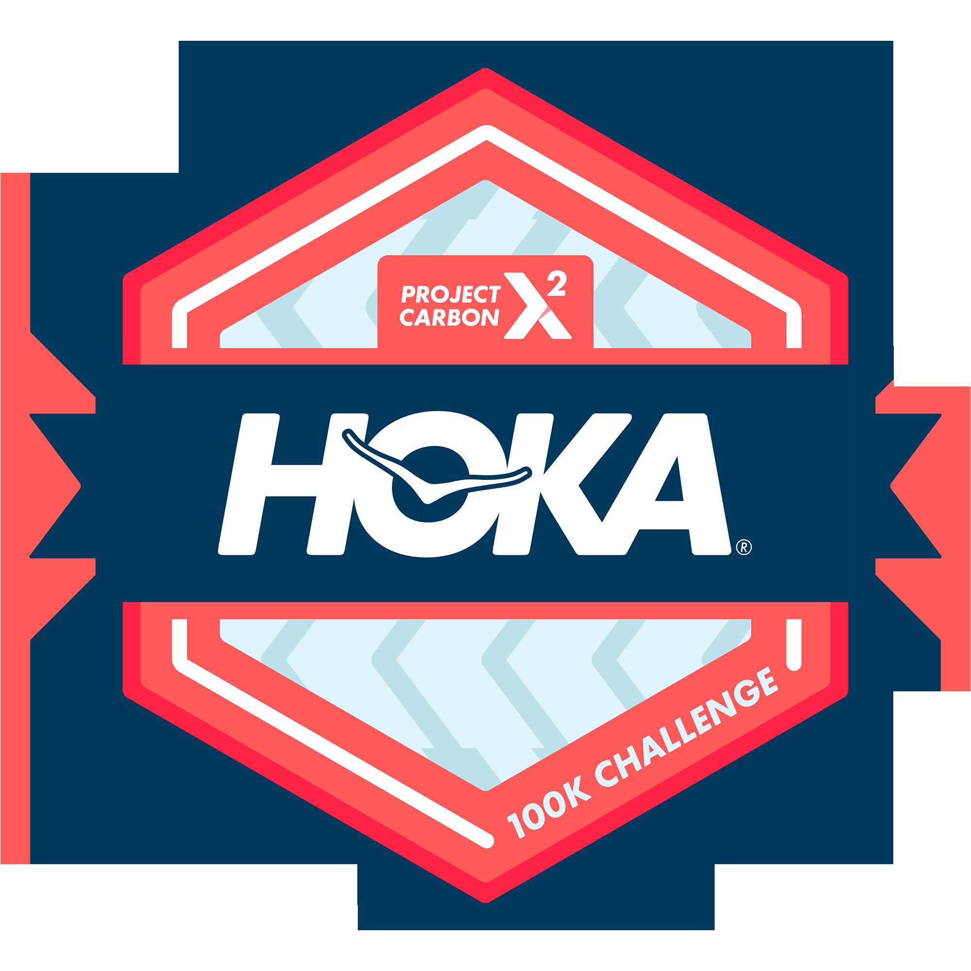 HOKA® Project Carbon X 2 100K Challenge logo