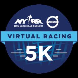 NYRR Virtual 5K logo