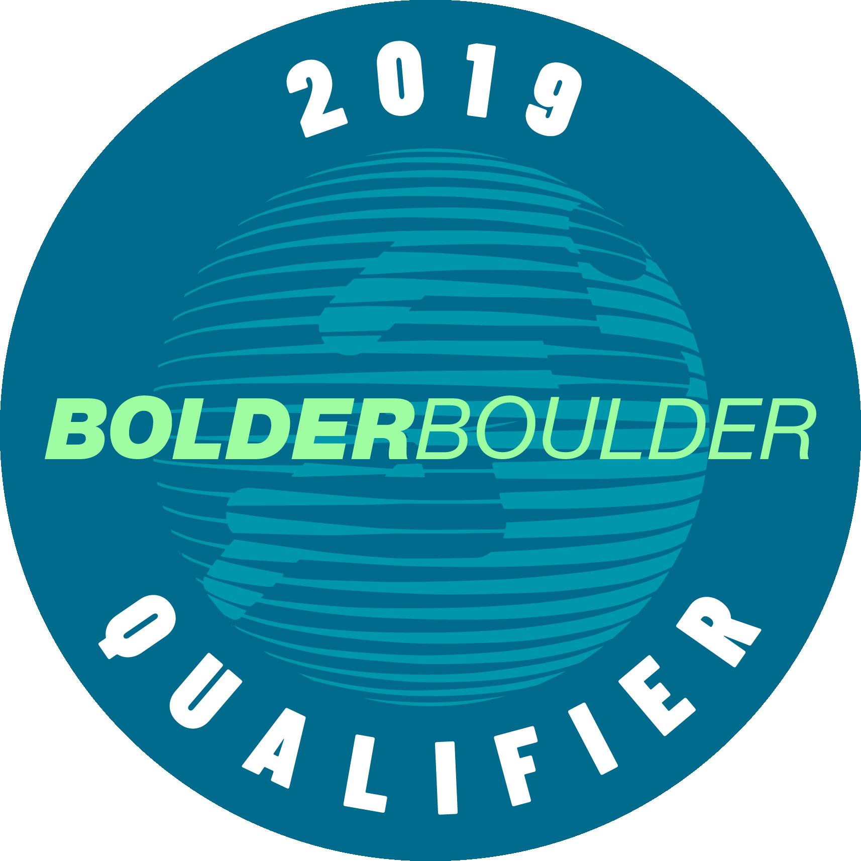 2019 BOLDERBoulder 10k Qualifier logo