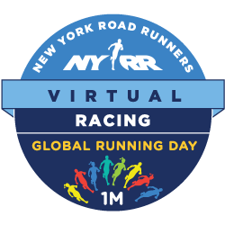 NYRR Virtual Global Running Day 1M logo