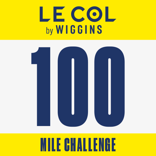 Le Col by Wiggins 100 Mile Challenge logo