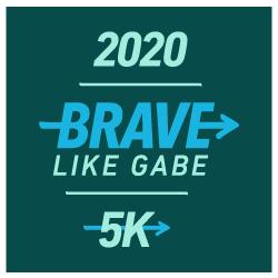 Brave Like Gabe Virtual 5k logo
