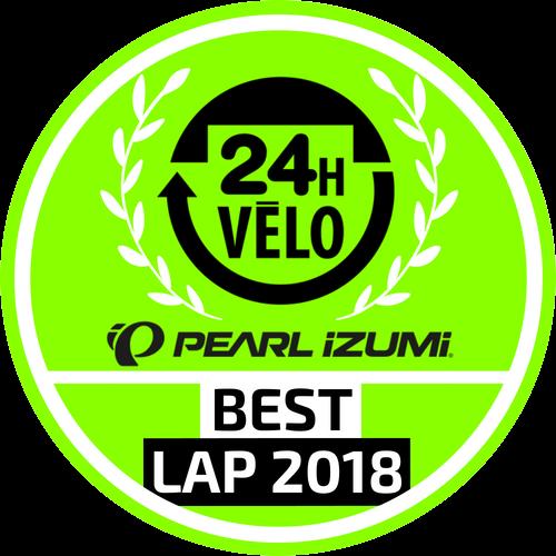 24 Heures Vélo Pearl Izumi - Best Lap 2018 logo