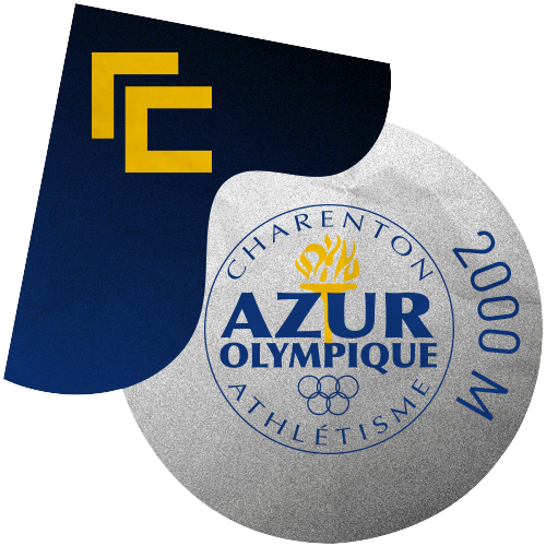 Rallye Club x L'Azur Olympique Charenton - 2000 M ⭕️