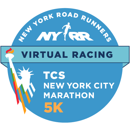 TCS New York City Marathon – Virtual 5K logo