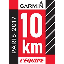 10km L'Équipe x Garmin logo