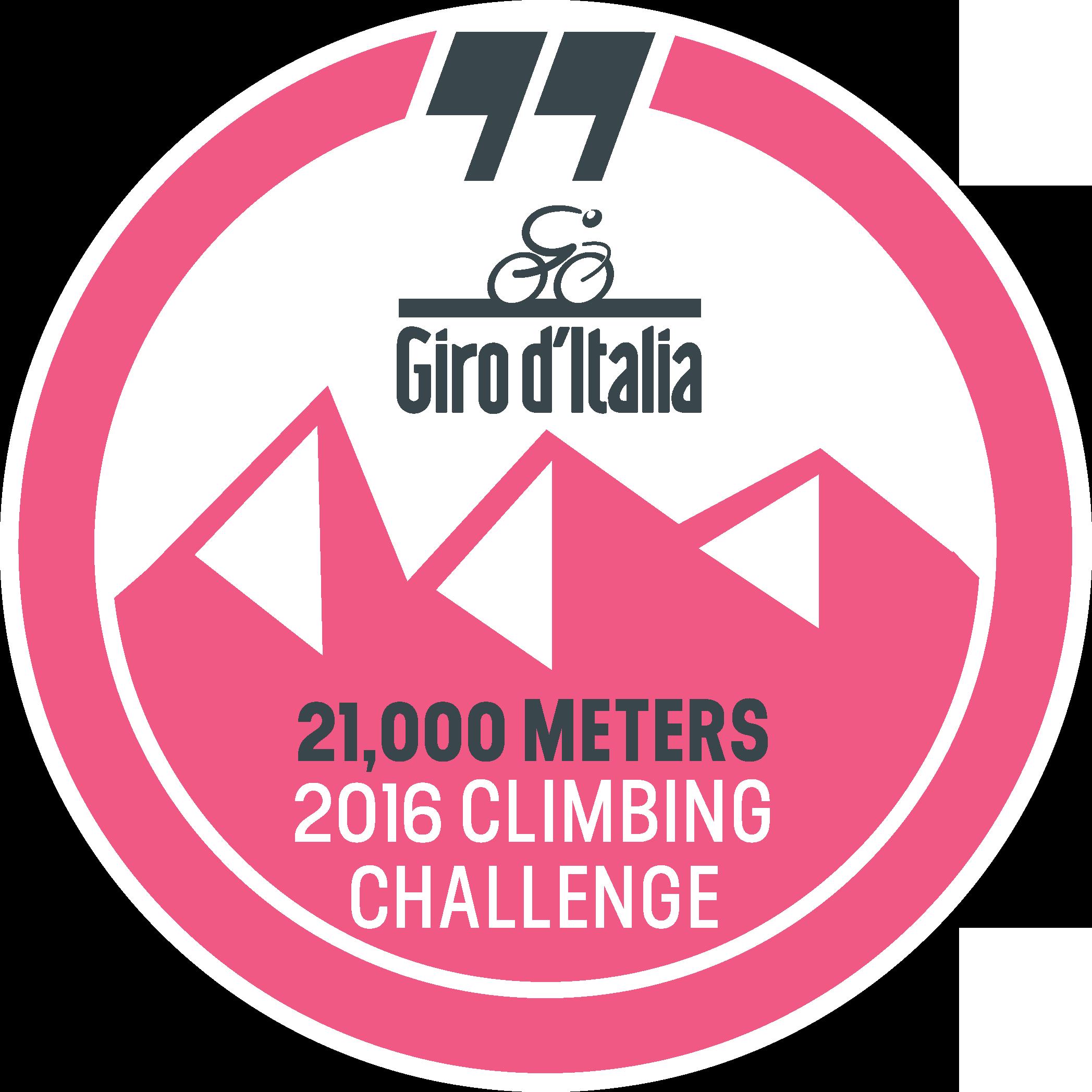 Giro d'Italia Climbing Challenge logo
