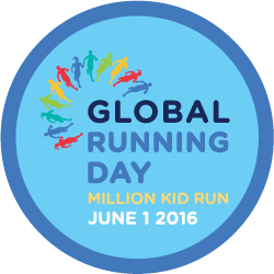 Global Running Day 2016 logótipo
