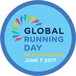 Global Running Day 2017 徽标
